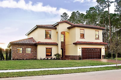 Luxury House Debary Front View