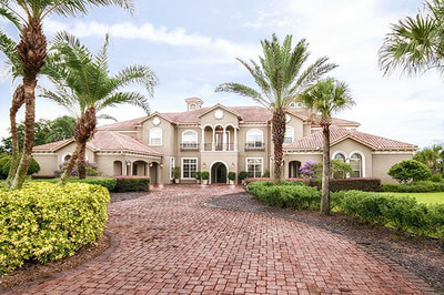 Luxury Estate Kissimmee Front View