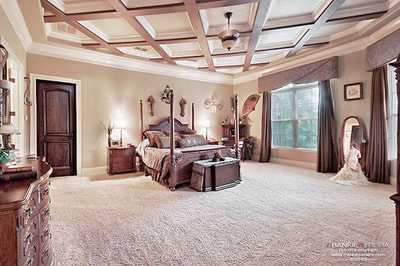 Luxury Estate Kissimmee Large Master Bedroom