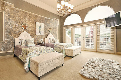 Luxury Estate Dr Phillips Large Elegant Bedroom Lake View