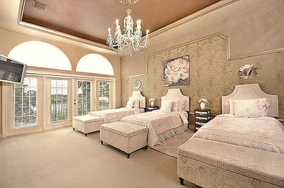 Luxury Estate Dr Phillips Large Bedroom Lake View