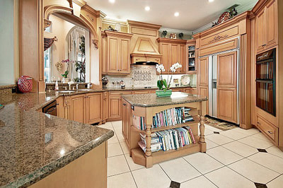 Luxury Estate Kissimmee Elegant Custom Kitchen
