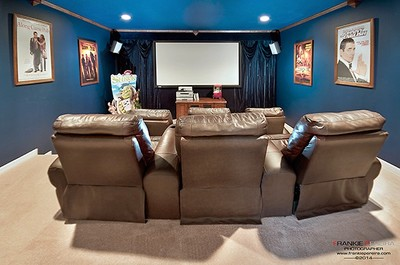 Luxury Home Custom Home Theater Moss Park